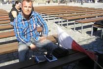 Demonstraci v havlíčkově Brodě pořádá Jiří Černohorský jako soukromá osoba