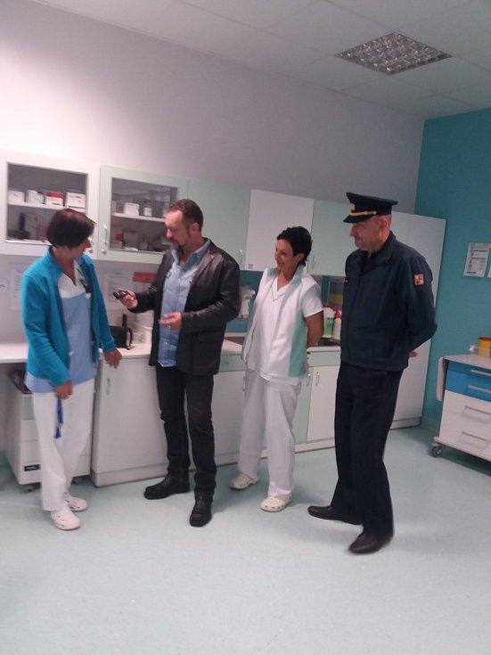 Do soutěže Bezpečná nemocnice se Brod přihlásil projektem Ochrana před závažným násilným útokem a uspěl.