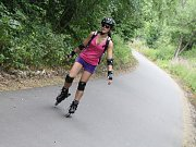 Čilý letní a dovolenkový ruch vládl ve středu na devět kilometrů dlouhé cyklostezce mezi Přibyslaví a Sázavou.