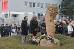 Vzpomínkového aktu se zúčastnili i zástupci partnerského italského města Brixenu.