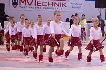 Chotěbořský zimní stadion přivítal již 4. ročník nepostupové soutěže mažoretek. Bylo na co se dívat.