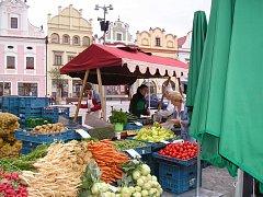 Farmářské trhy, to nejsou jen nákupy kvalitních českých potravin, ale také příjemné podívání.
