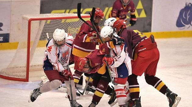 Spanilou jízdu předvádějí v lize mladšího dorostu havlíčkobrodští hokejisté. Zatím neztratili ani bod.