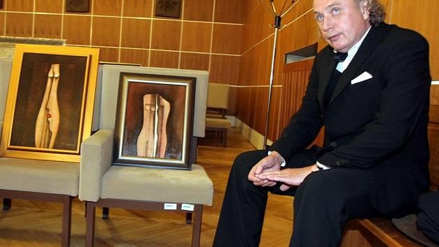 Janu Trojanovi mladšímu a jeho otci se podařilo zorganizovat prodej více než sto padesáti falzifikátů obrazů. Mezi nimi jsou díla Jana Zrzavého, Václava Špály, Karla Valtra, Vojtěcha Sedláčka nebo Kristiána Kodeta (na snímku).