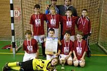 Fotbalisté Slovanu Havlíčkův Brod, kteří na mistrovství ČR ve futsale startovali pod hlavičkou brodského Pramenu, obsadili vTřebíči třetí pozici.