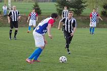 První jarní prohru si připsali proti Humpolci B fotbalisté Ledče.