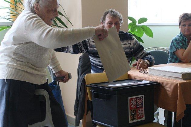 V Domově pro seniory v havlíčkobrodské Reynkově ulici byl velký zájem.