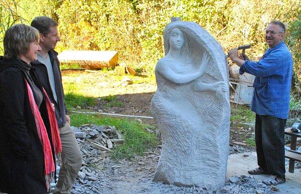 sochař Radomír Dvořák