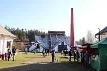 Sklářská huť Jakub v Tasicích. Ilustrační foto.