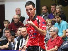 Jediný bod STEN marketingu v Istres vybojoval na trojce hrající Tomáš Tregler.