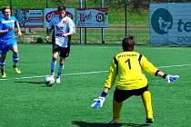 Povinné výhry získali brodští dorostenci na půdě Otrokovic, kde celkem nastříleli devět gólů.