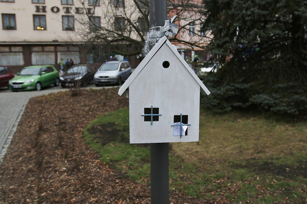 Ježíškova pošta v Chotěboři.
