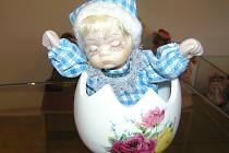 Nejlepší kousky ze sbírky Miloslavy Pospíchalové mohou vidět návštěvníci výstavní síně v Kurfürstrově domě v Přibyslavi až do začátku ledna příštího roku.
