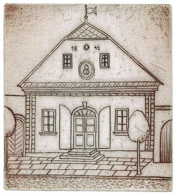 """Havlíčkovo rodiště inspirovalo českého výtvarníka polského původu Filipa T. A. K. ke zpodobení suchou jehlou. """"Maluji v ateliéru jen přes úzkou ulici a z okna mám slavný dům jako na dlani, mohu ho kreslit zpaměti,"""" řekl Deníku umělec."""