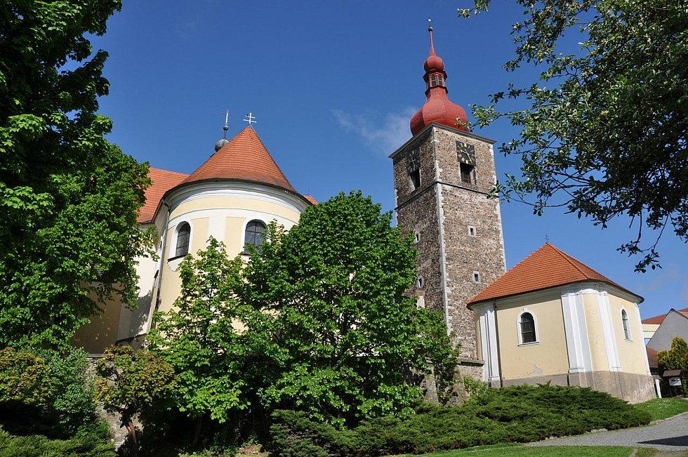Kostel v Přibyslavi.