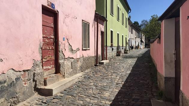Kozí ulice v Havlíčkově Brodě.