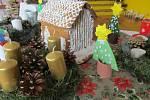 Vánoční výstava na ZŠ Krucemburk.