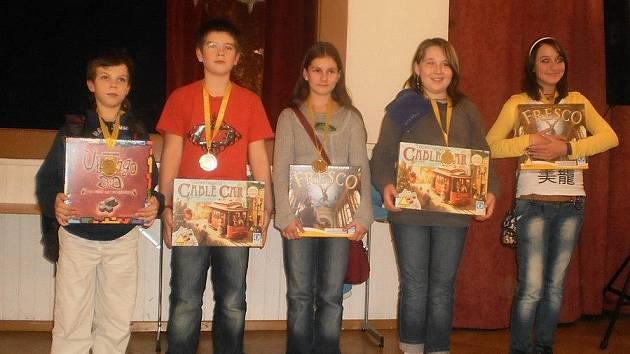 Žáci ze světelských základních škol Komenského a Lánecká získali dvojí prvenství na Mistrovství ČR v deskových hrách.