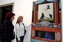 ELEGIE je jeden ze čtyřiceti tří obrazů, které Chotěboři z pozůstalosti svého syna věnoval malířův otec Otakar Rykr.