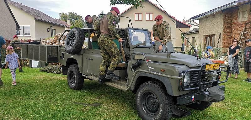 Sraz veteránů v Sobíňově