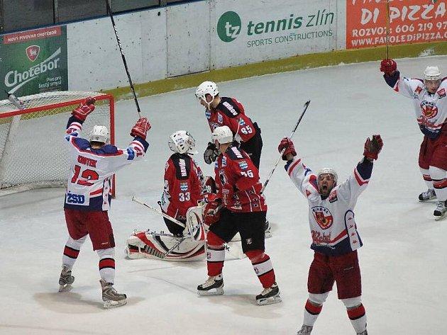 Z hokejového utkání Havlíčkův Brod - Havířov.
