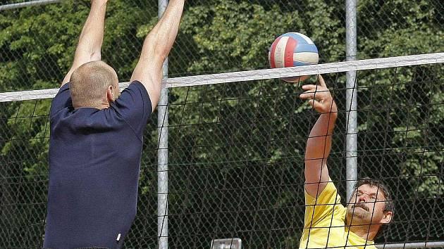 Tradiční volejbalový turnaj smíšených družstev odstartuje v pondělí 27. července v Okrouhlici.