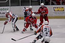 Z hokejového utkání Havlíčkův Brod - Most.