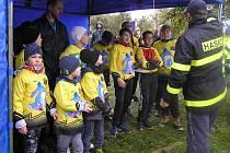 Mladí hasiči sbírali cenné body ve zdravovědě nebo práci s buzolou.