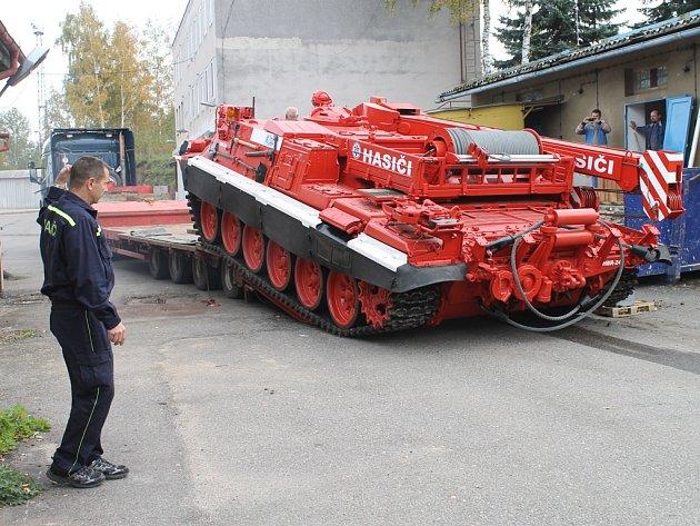 VT 72 B už je v Brodě.