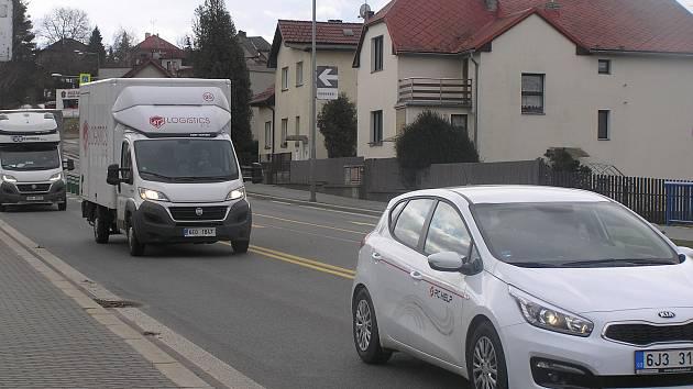 Lidická ulice v Brodě je neprůjezdná.