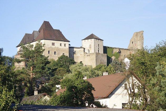 Hrad vLipnici nad Sázavou.