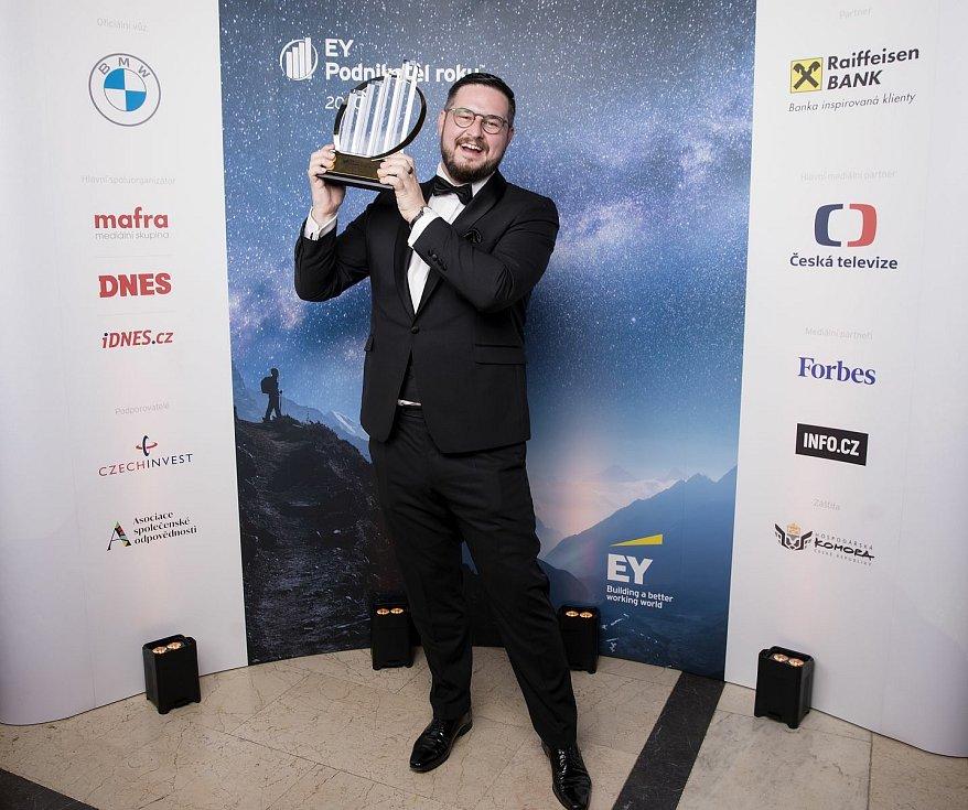 Josef Průša, zakladatel a majitel společnosti Prusa Research, se stal EY Podnikatelem roku 2020 České republiky.