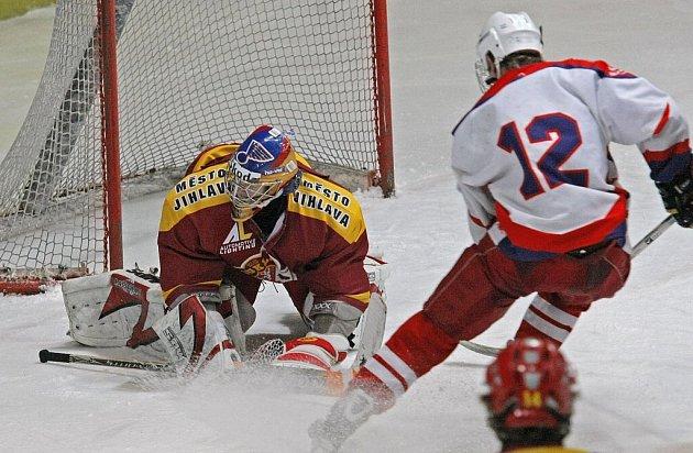 Mládežnické derby hokejové extraligy HC Rebel Havl. Brod - HC Dukla Jihlava.
