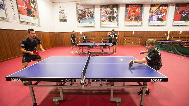 Stolní tenisty HB Ostrov čeká důležitý duel s TTC Ostrava.