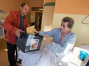 Volby v havlíčkobrodské nemocnici.