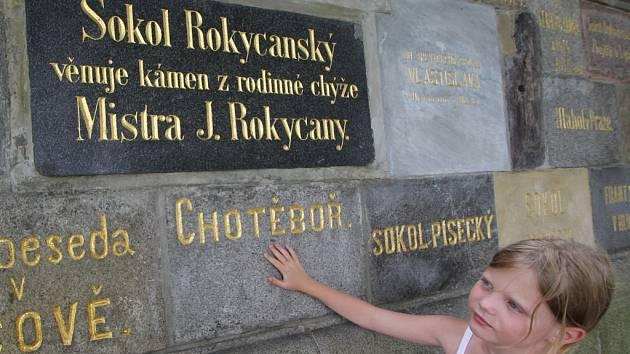Místo české historie.