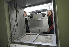 Montáž babyboxu v Havlíčkově Brodě