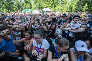Hudební festival Sázafavest.