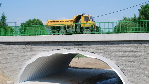 Nový most ve Vilémově.