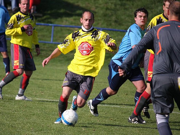 Kombinační fotbal slibují oba trenéři v sobotním přípravném utkání mezi Ždírcem a Přibyslaví.