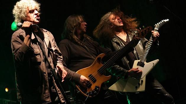 Legendární kapela Citron hrála v sobotu večer v Modlíkově