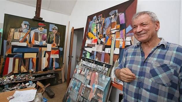Josef sska vystavuje ve Světlé obrazy z měst svého srdce. Foto: