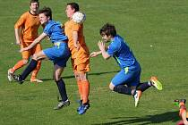 Výhru si na začátek jara připsali fotbalisté Mírovky. Horní Cerekev porazili 5:1.
