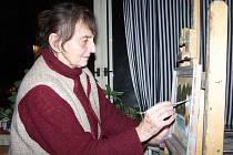 Malířka je jednou z nominovaných umělců na nejvyšší cenu Kraje Vysočina.