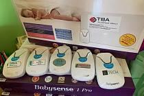 Monitory dechu pro havlíčkobrodskou nemocnici.