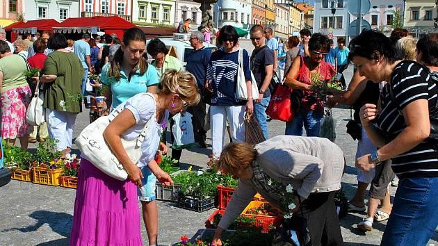 Farmářské trhy v Havlíčkově Brodě měly v sobotu své druhé, velmi úspěšné, pokračování.