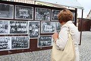 Sportovní den s házenou na náměstí v Havlíčkově Brodě.