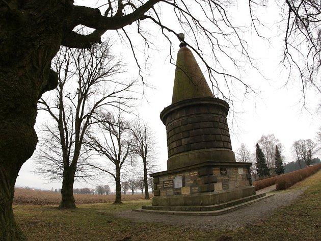V místě Žižkova skonu se v roce 1868 konal pod praporem Besedy nepovolený tábor lidu.