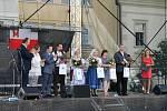 Dny evropského dědictví v Havlíčkově Brodě: koncert Jaroslava Svěceného a Markéty Laštovičkové.