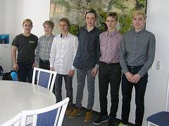 Slavnostní přijetí mladých hokejistů z BK Havlíčkův Brod na radnici.
